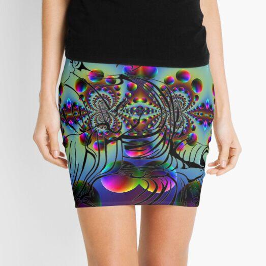 #Psychedelic #Art #PsychedelicArt #PsychedelicColors Mini Skirt