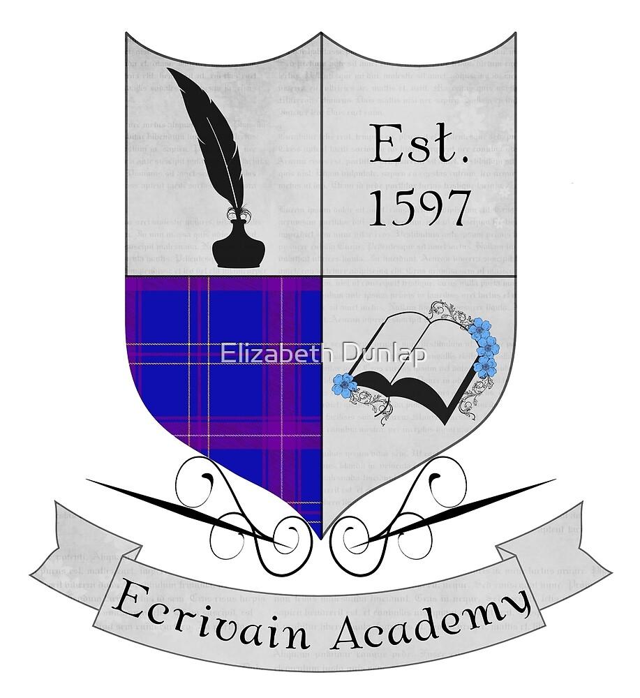Ecrivain Academy Crest by Elizabeth Dunlap