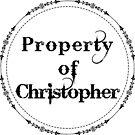 Property of Christopher by Elizabeth Dunlap
