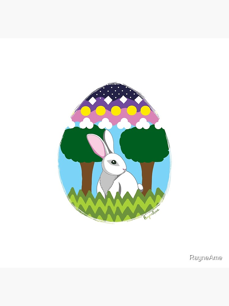 Easter Bunny in Egg by RayneAme