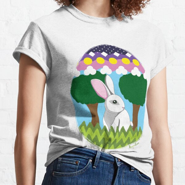 Easter Bunny in Egg Classic T-Shirt
