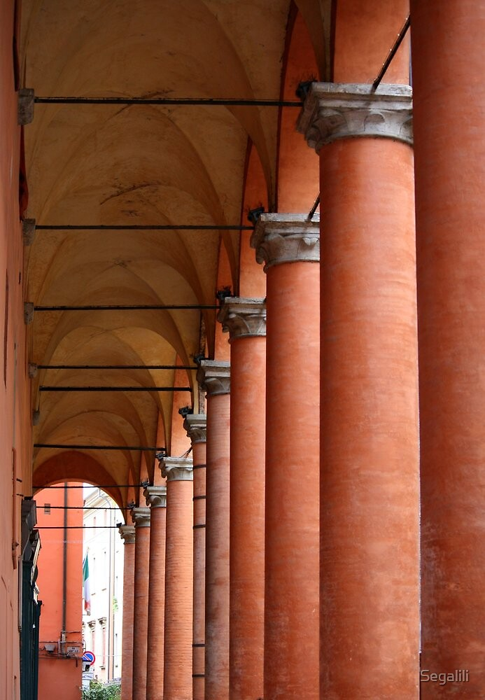 Arcades of Bologna by Segalili