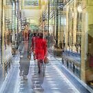 Royal arcade, Melbourne by Vicki Moritz
