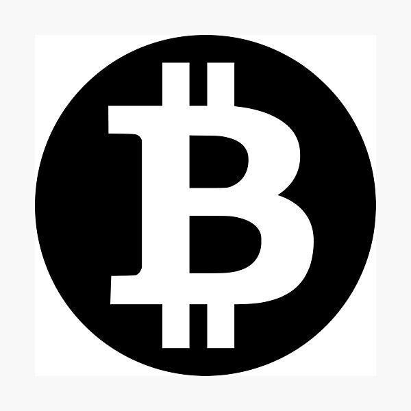 Bitcoin Fotodruck