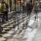 Everyday Abstract, Royal Arcade, Melbourne by Vicki Moritz