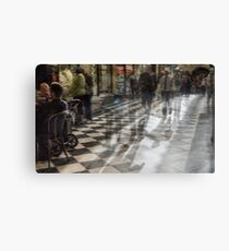 Everyday Abstract, Royal Arcade, Melbourne Canvas Print
