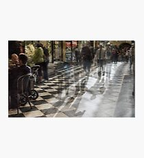 Everyday Abstract, Royal Arcade, Melbourne Photographic Print