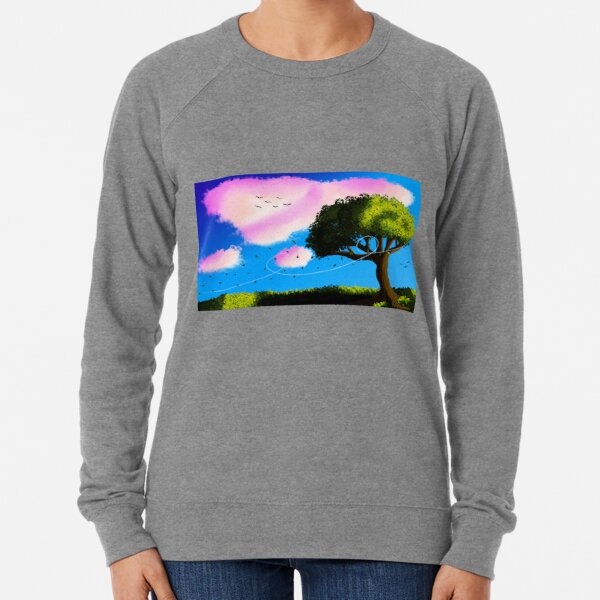 Sunset Tree Lightweight Sweatshirt