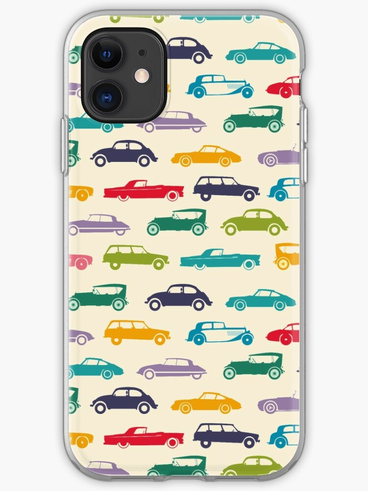 Vintage Car Tileable Wallpaper Iphone Case Cover By M7md454 Redbubble