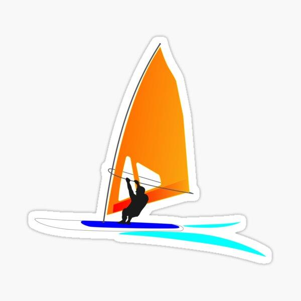 Windsurfer Sticker