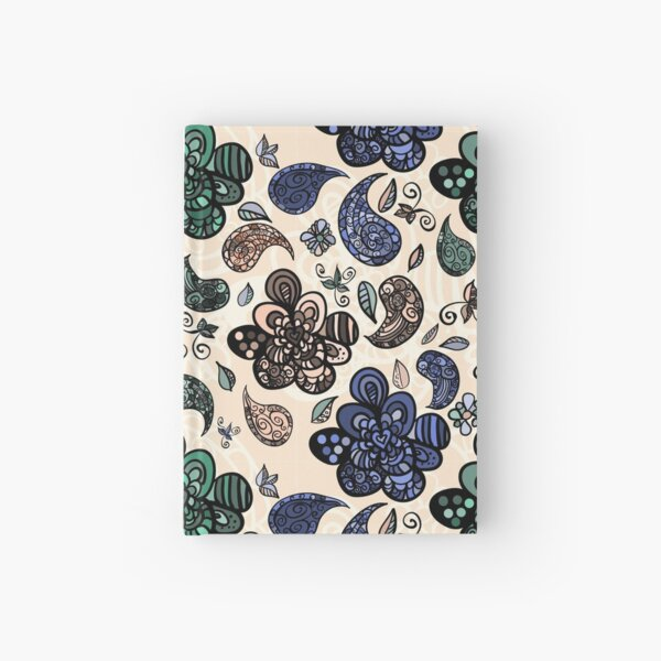 Abstract seamless pattern Hardcover Journal