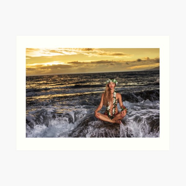 Spirit of Aloha - Stillness (Kanaloa) Art Print