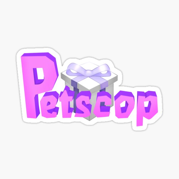 Petscop logo Sticker