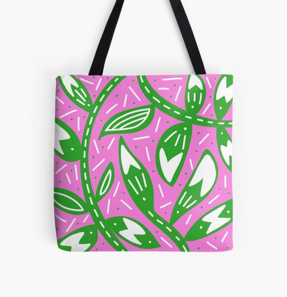 Footloose and Fancy Free All Over Print Tote Bag