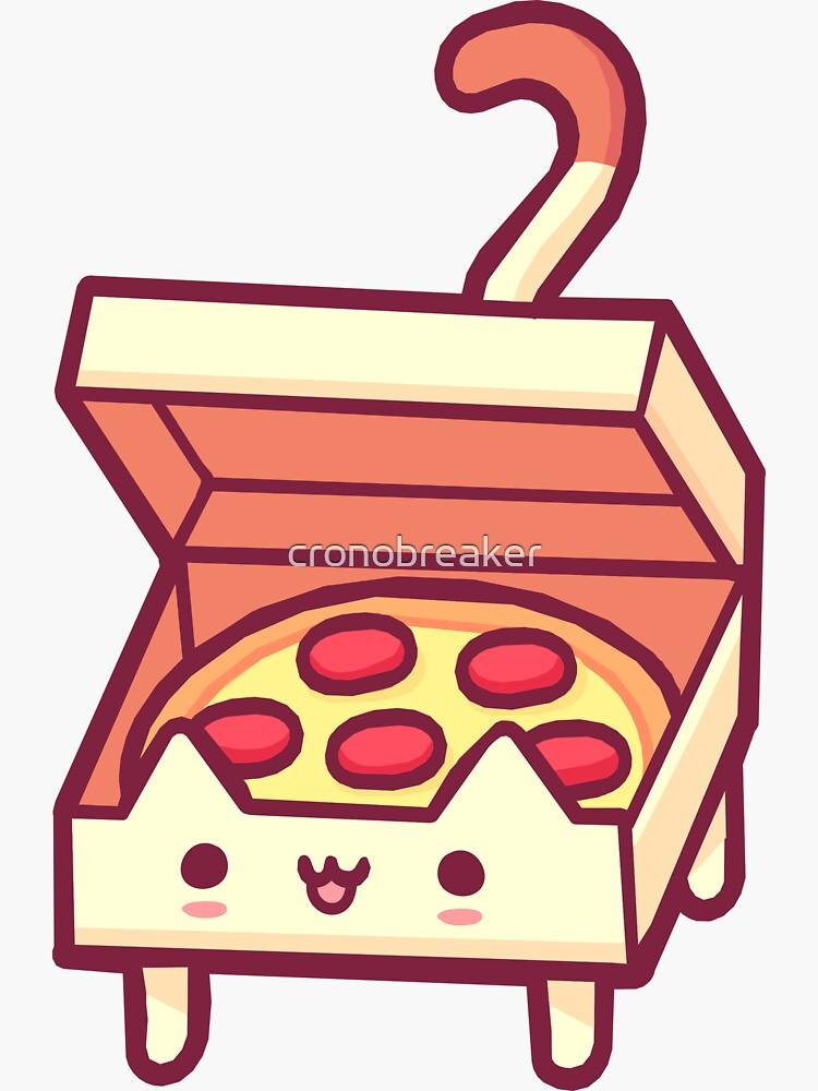 Pizza Cat by cronobreaker