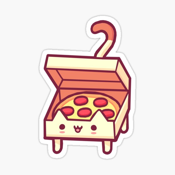 Pizza Cat Sticker