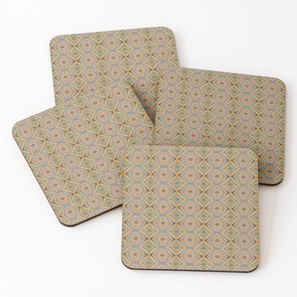 Wild Tiny Patchwork 29 Coasters (Set of 4)