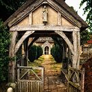 Outside Barsham Church, Suffolk by Simon Duckworth