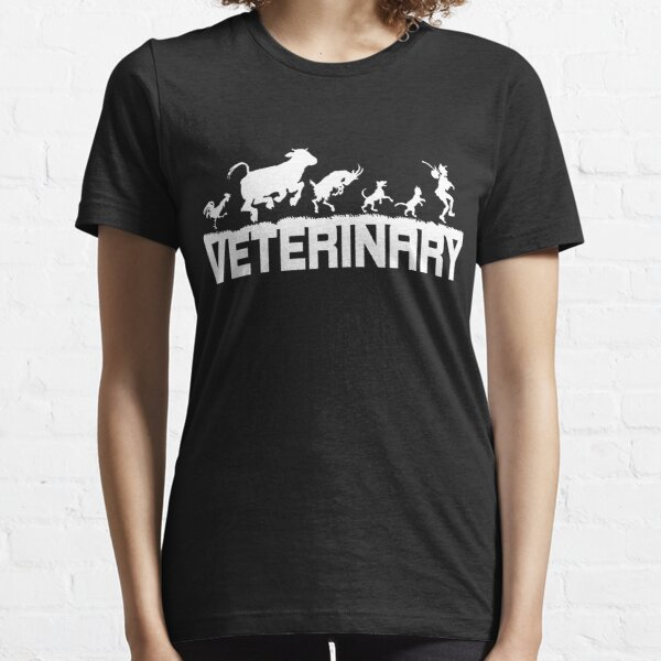 Veterinär Tierarzt Tierdoktor Shirt Geschenk Essential T-Shirt