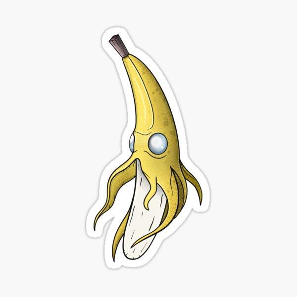 Banana Squid Sticker