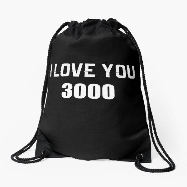 I Love You 3000 Drawstring Bag