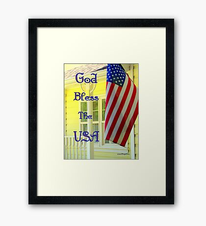 Happy 4th Of July!!! Framed Print
