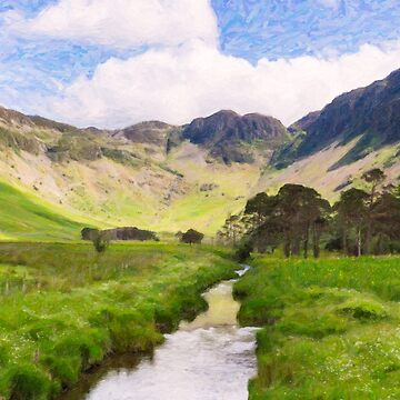 Warnscale Beck, Buttermere by GrahamPrentice