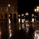 Venice at Night 2 by John Wallace