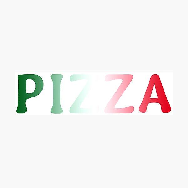Pizza Fotodruck