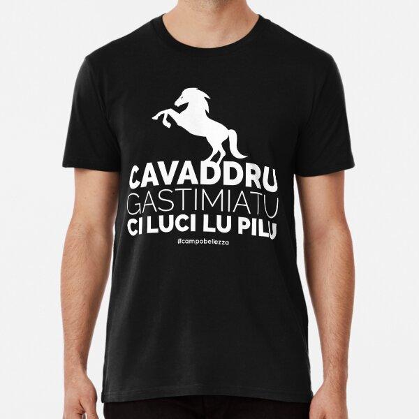 Cavaddru Gastimiatu - Bianco Premium T-Shirt