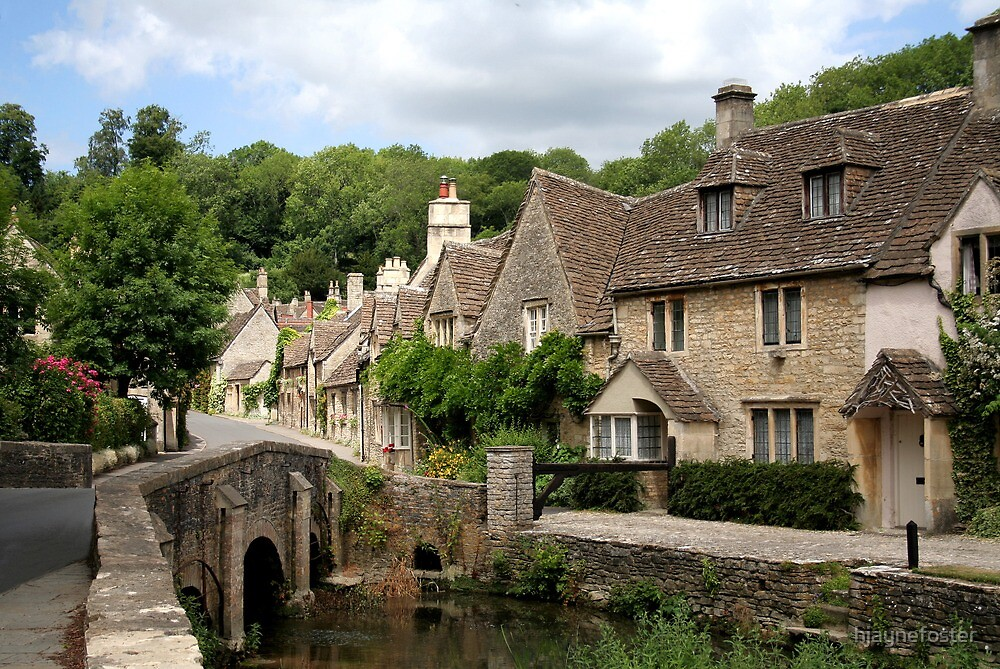 Castle Combe by hjaynefoster