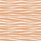 «Estampado De Cebra - Toffee Caramel» de SilverPegasus