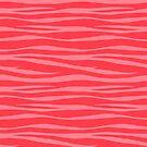 «Estampado De Cebra - Macarrones De Coral» de SilverPegasus