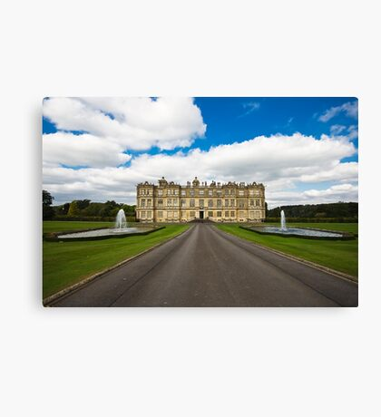 Longleat Estate and House Canvas Print