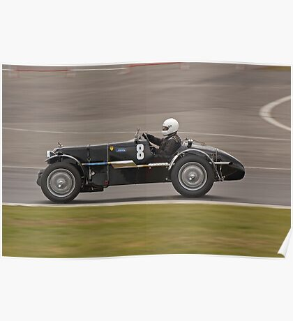 1935 MG KN Special Poster