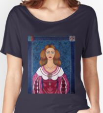 Ines de Castro - The love crowned Women's Relaxed Fit T-Shirt