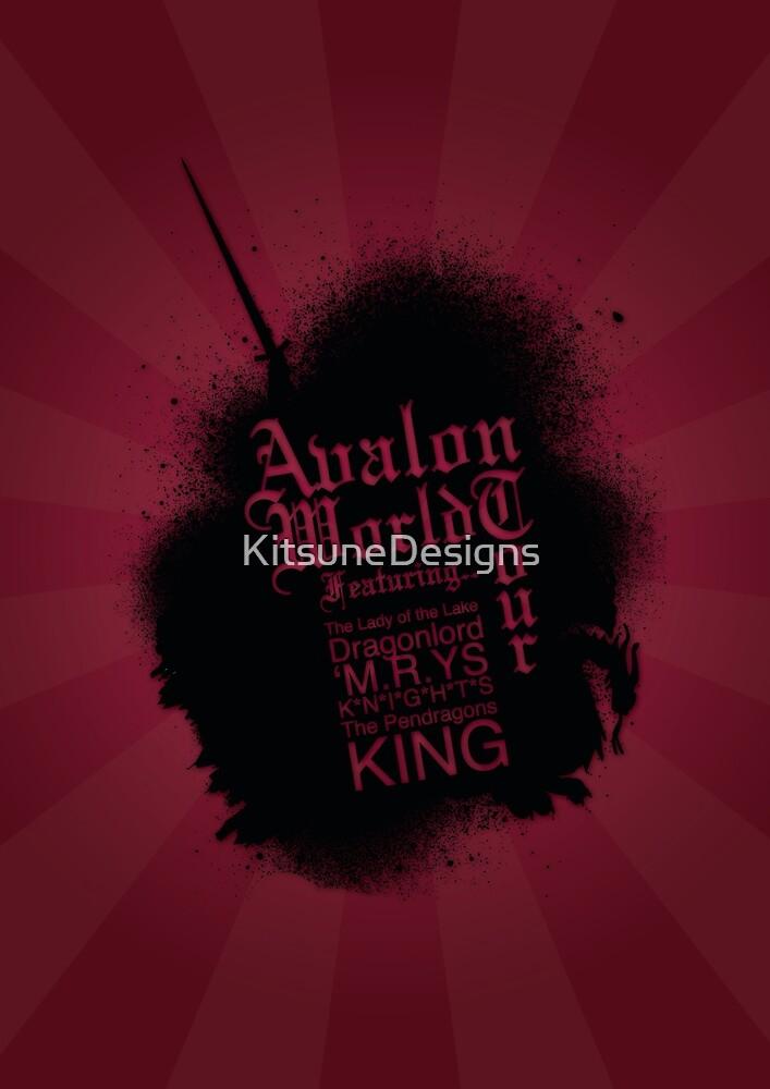 Avalon Poster 1 by KitsuneDesigns