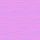 «Estampado de zebra - Lavanda Sunset» de SilverPegasus