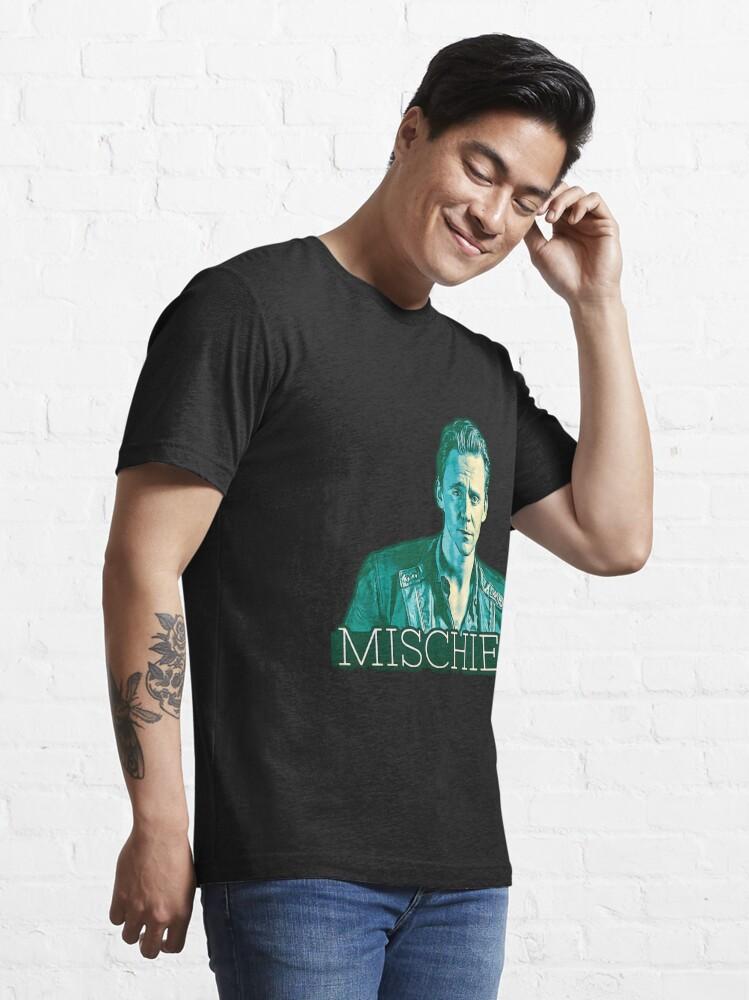Alternate view of Hiddleston Mischief Essential T-Shirt