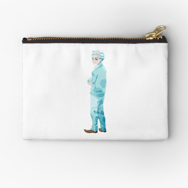 Norman Sticker Zipper Pouch