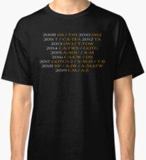 MCU: To the Endgame (V2) Classic T-Shirt