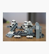 Troop Trouble Photographic Print