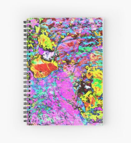 Paw Prints Catch Me If You Can Spiral Notebook