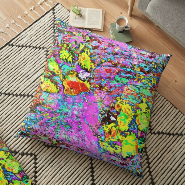 Paw Prints Catch Me If You Can Floor Pillow