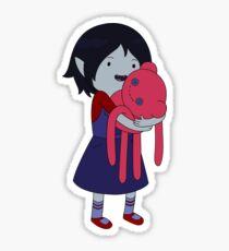 Marceline and Hambo Sticker
