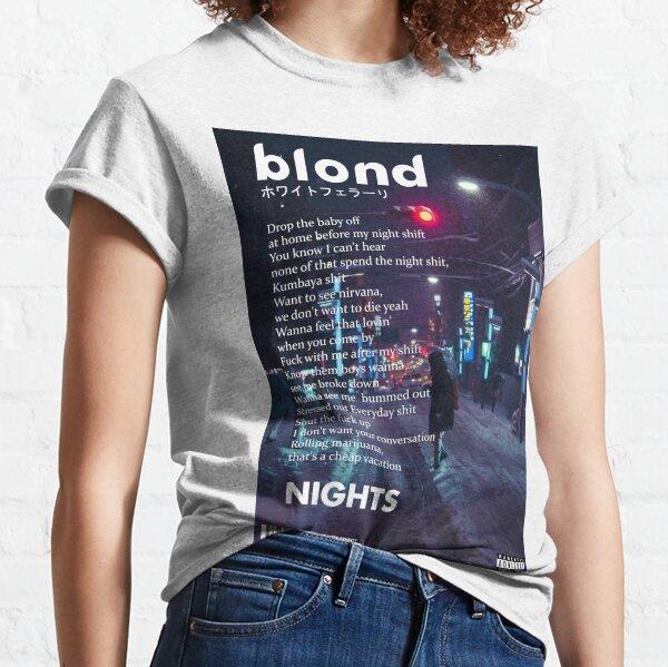 Frank Ocean - Noches de arte Camiseta clásica