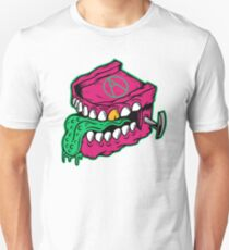 Chattering Teeth Monster - designed by Joe Tamponi Unisex T-Shirt