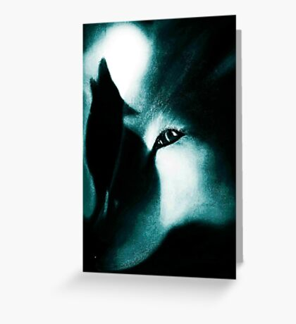 Night Howlers Greeting Card