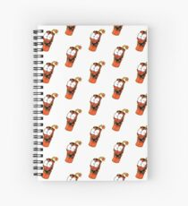 Laughing Dynamite - Designed by Joe Tamponi Spiral Notebook