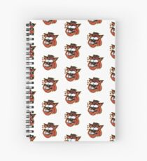 Loving cat - designed by Joe Tamponi Spiral Notebook